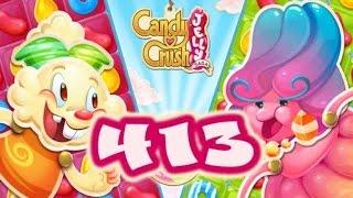 Candy Crush Jelly Saga Level 413