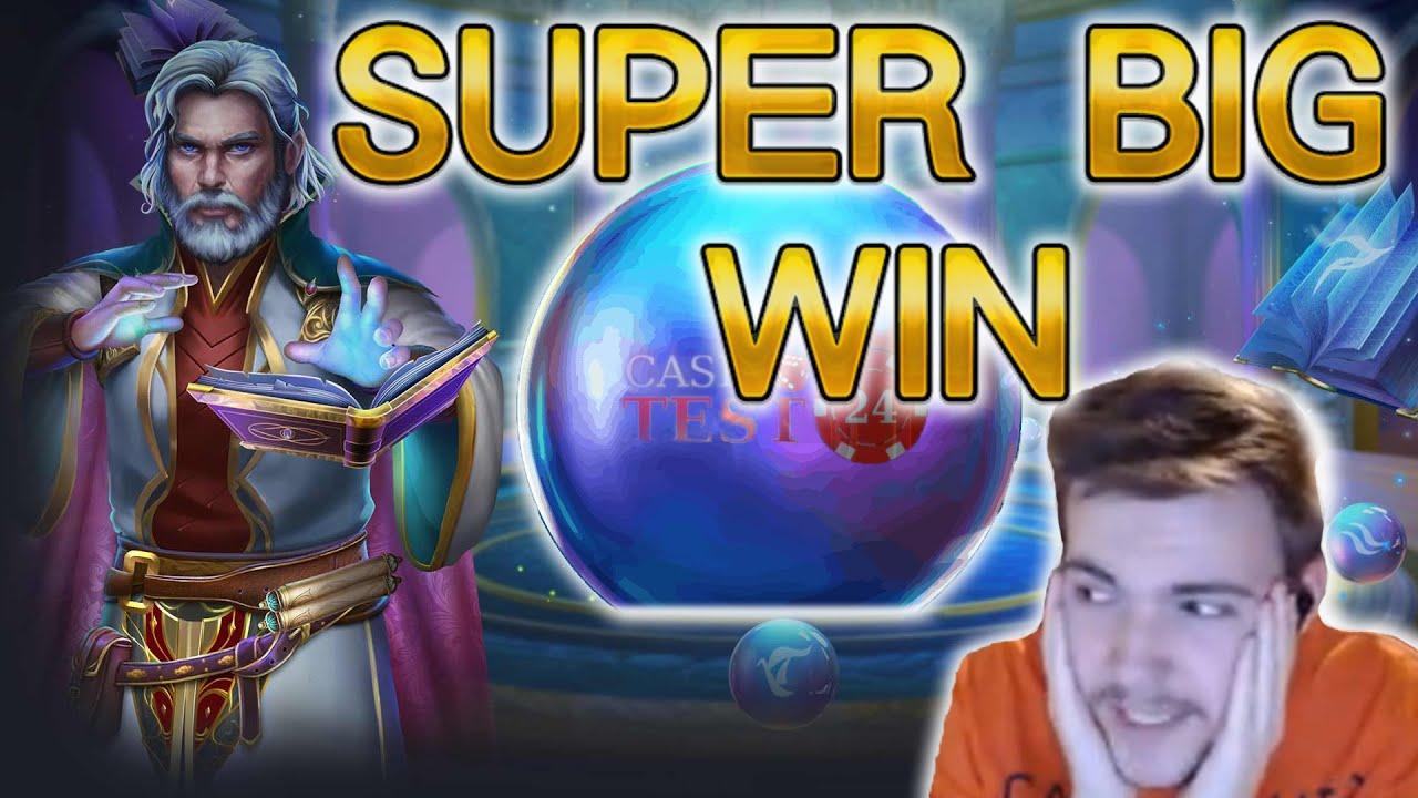 Download SUPER BIG WIN!!! Freispiele mit mehreren Verlängerungen in RISE OF MERLIN - 5€ Einsatz