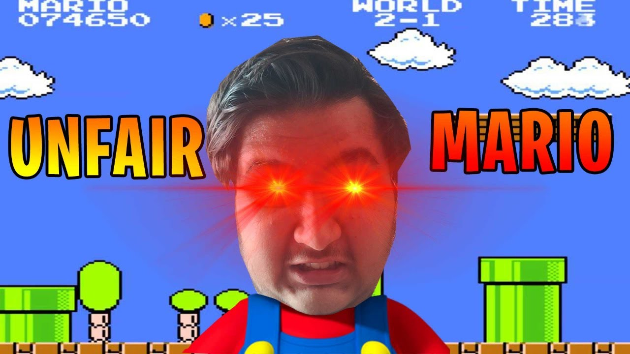 iTS tOtAlLy uNfAiR | UNFAIR MARIO | OTHER GAMES LATER | Rounak Choudhary | Live
