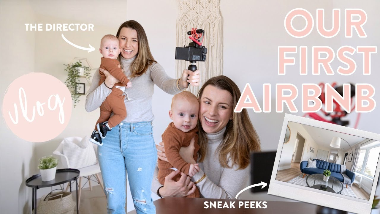 DAY IN THE LIFE | Family Road Trip + Our First Airbnb House Tour!