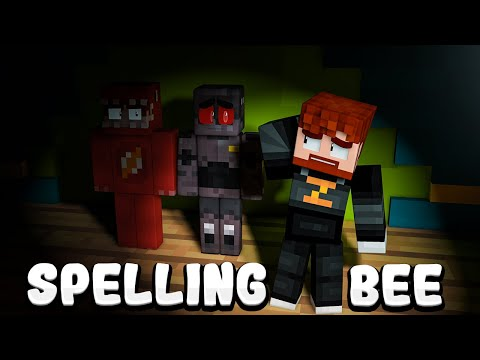 I Had 3 Minecraft YouTubers Compete in a SPELLING BEE