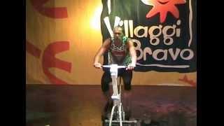 villaggio bravo DJERBA 2009... cyclette.PEPPUZZO,BISTECCA,BIRILLO!