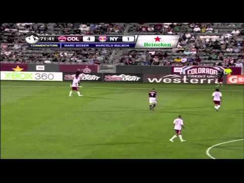 Joseph Nane Highlights Part 1 2011; Colorado Rapids #5