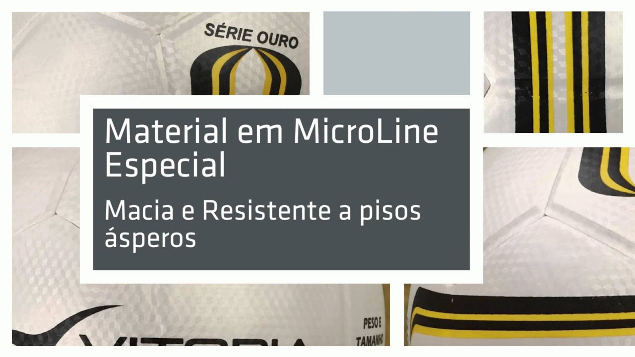 275d271913 Bola de Futsal Oficial Vitoria Ouro Max 500 Adulto Profissional ...