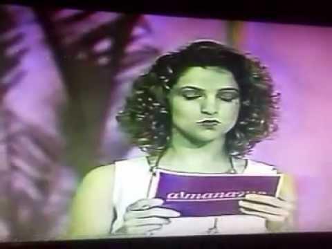 Participação no Programa Almanaque - TV Manchete - 1992