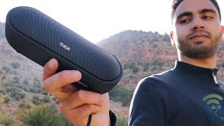 Review Tribit MaxSound Plus Portable Bluetooth Speaker with Powerful Louder Sound, IPX7 Waterproof