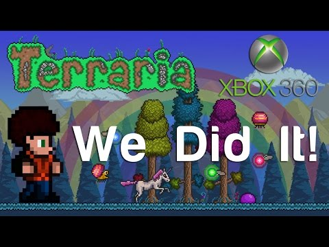 Terraria Xbox - We Did It [95]