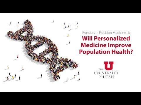 Precision medicine & population health in action session: Big data