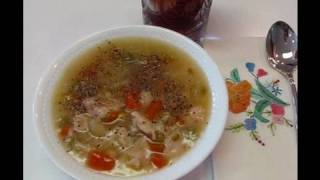Betty's 5-minute Diet Chicken And Vegetable Soup