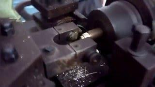 Automatic operations on Capstan Turret Lathe machine