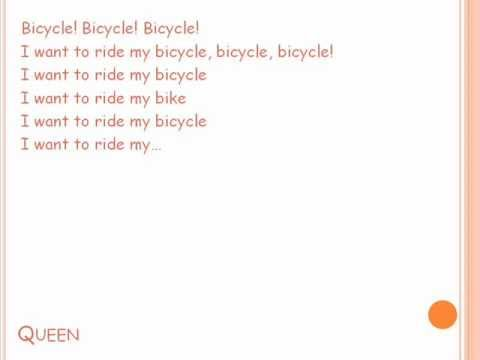 I Want To Ride My Bicycle Queen