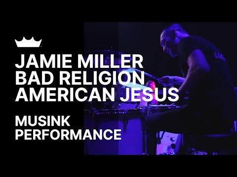 Remo + Jamie Miller / Bad Religion: American Jesus - Musink 2017