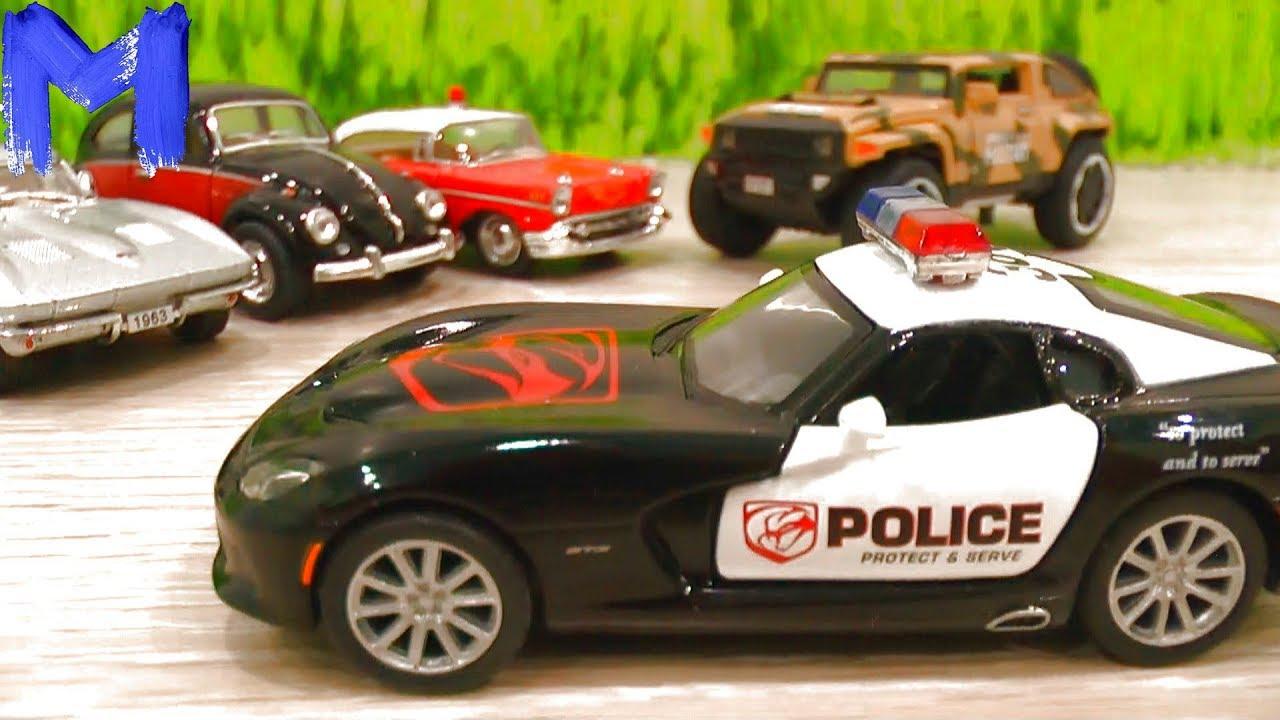 Купили новые Машинки - Игрушки для мальчиков - Видео для детей