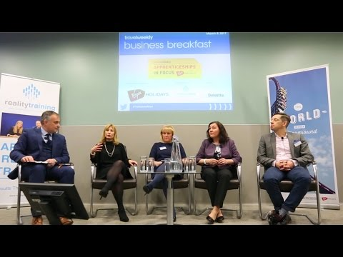Travel Weekly Business Breakfast - Training and Apprenticeships