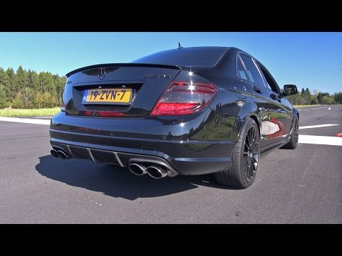 Mercedes C63 AMG w/ iPE Exhaust! LOUDEST C63 EVER!