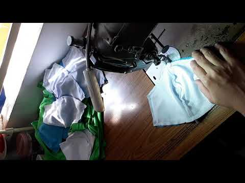 Cách may khẩu trang vải kháng khuẩn tại nhà trong mùa dịch Corona