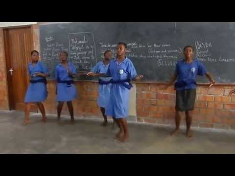 🎶  👏  Dance with Notre Dame Academy in Uganda 👏 🎶