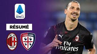 Résumé : L'AC Milan et Ibra torpillent Cagliari 3-0 !