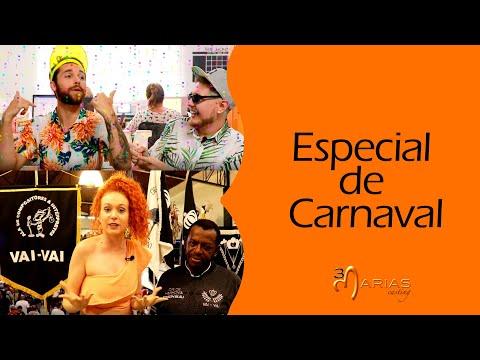 TV 3Marias: Matéria em uma Escola de Samba de SP