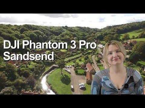 DJI Phantom 3 Pro at Sandsend in North Yorkshire