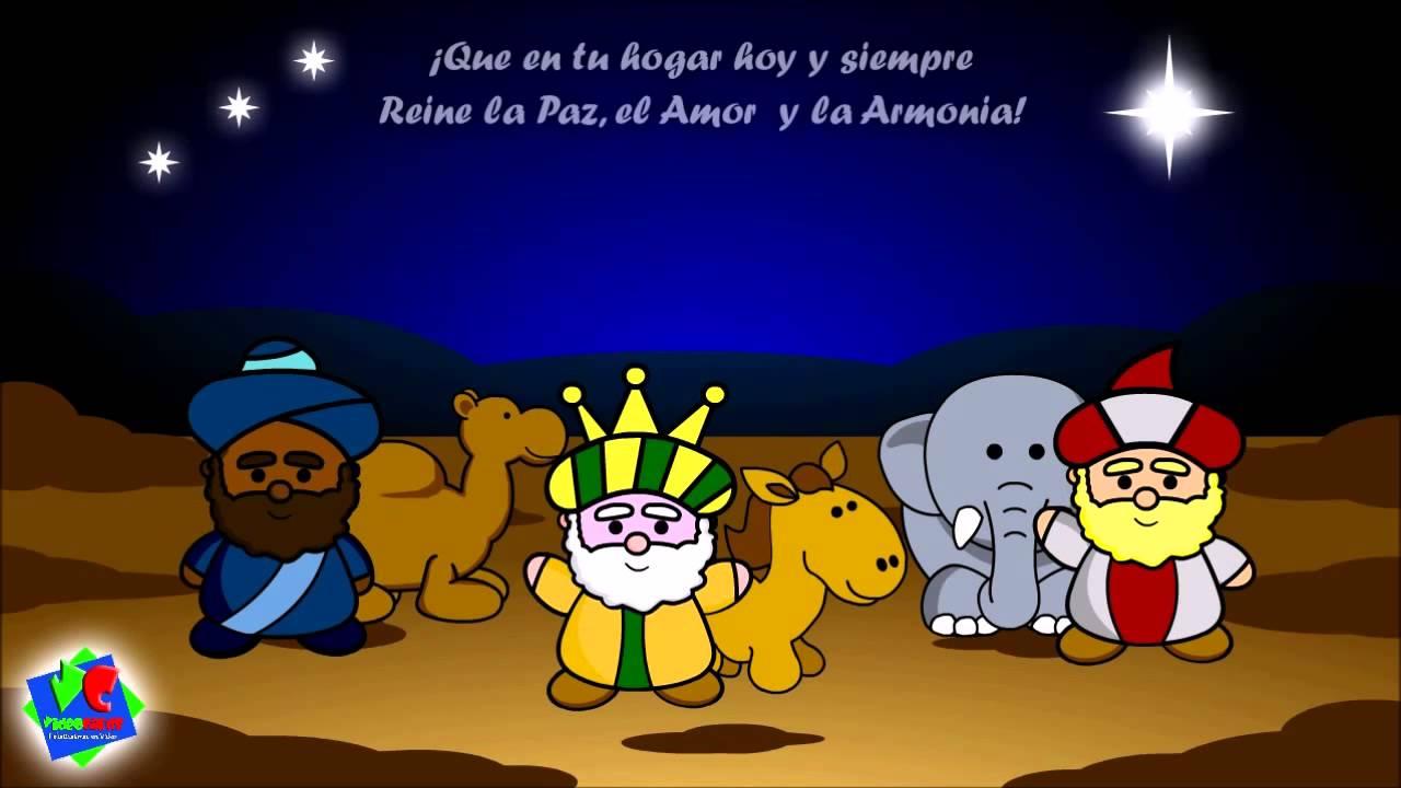 Felicitaciones De Navidad Con Los Reyes Magos.Tarjetas Navidenas Animadas Felicitaciones Navidenas Reyes Magos