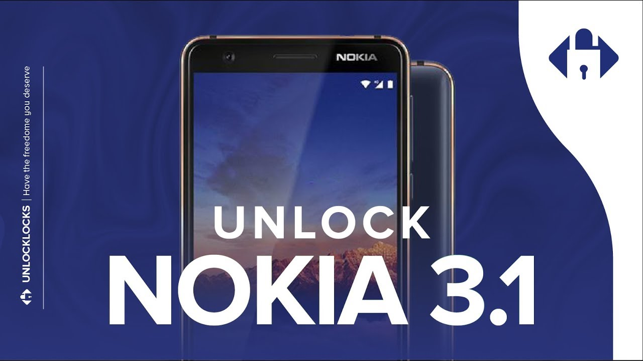 How To Unlock Nokia 3 1 or 3 1 Plus by Unlock Code