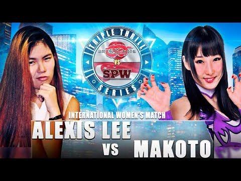 Alexis Lee vs Makoto thumbnail