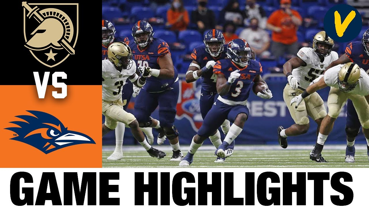 Army vs UTSA Highlights | Week 7 2020 College Football Highlights