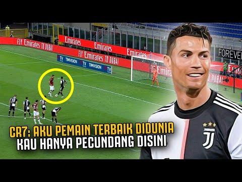 ANEH ‼️ Lihat Detik Detik Saat Ronaldo Ganggu Penalti Ibrahimovic, Yang Gegerkan Fans Juventus