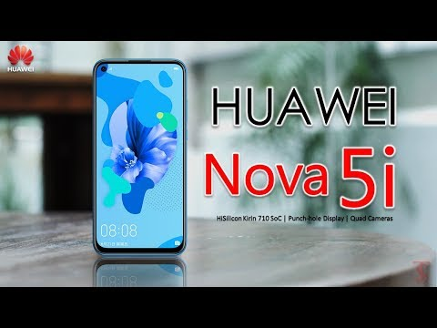 Huawei Nova 5i Price, Official Look, Design, Specifications, Camera, Features, and Sales Details