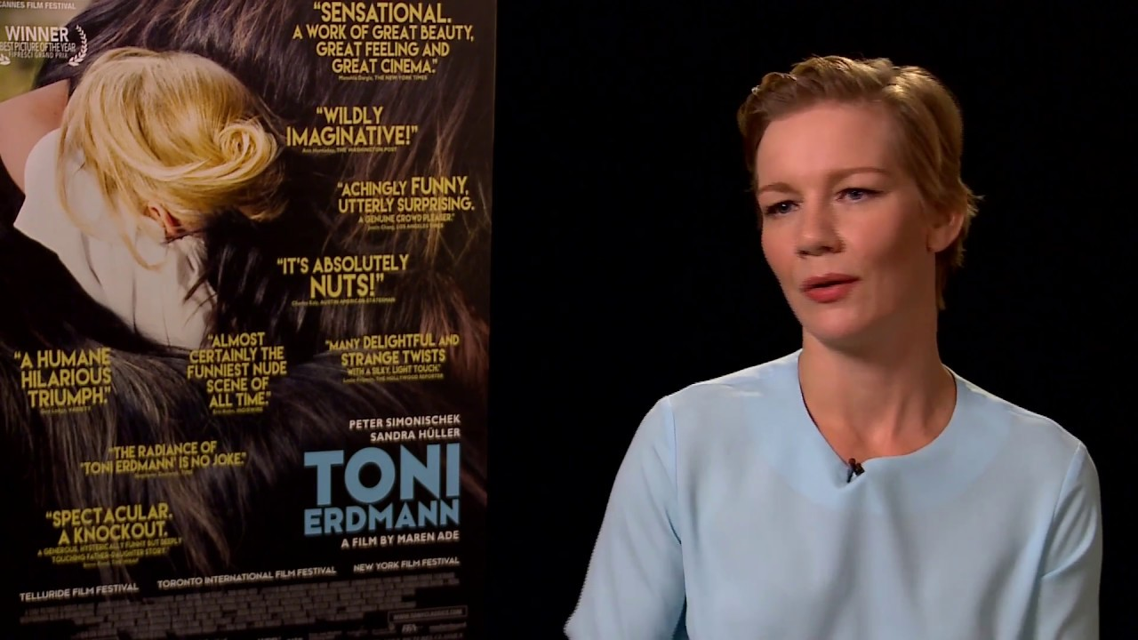 """Sandra Huller dishes the """"really complicated story"""" of """"Toni Erdmann"""""""
