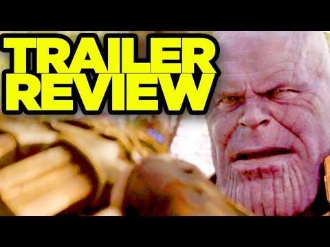 AVENGERS INFINITY WAR - New Trailer REACTION!