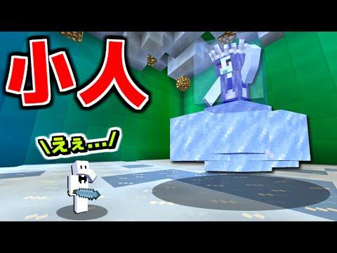 【マイクラ】小人になって黄昏の森を生き抜く! #7 雪の女王なのに凍るってマジ?【マインクラフト】