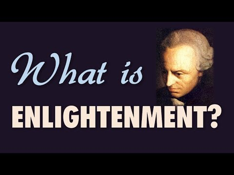 What does Kant mean by enlightenment in the essay