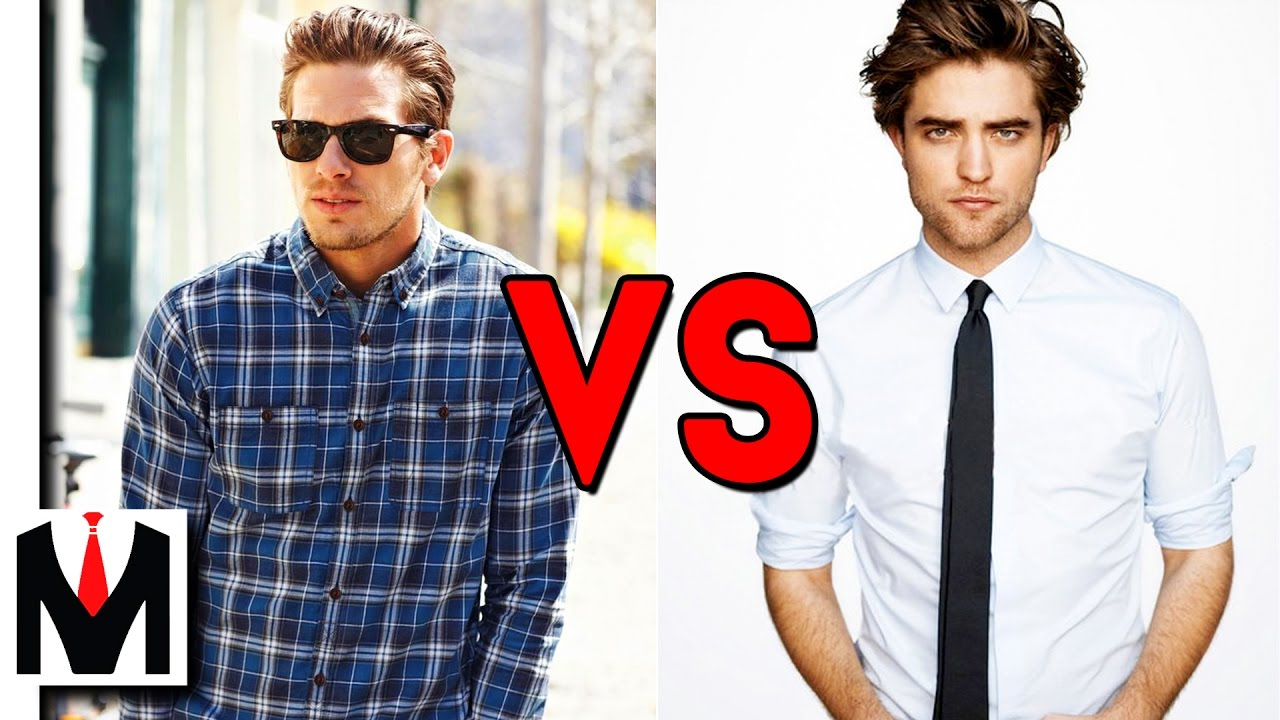 casual shirt vs formal dress shirt how to tell the