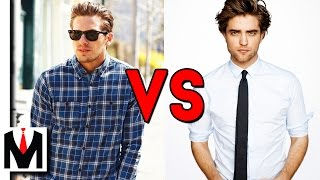 CASUAL SHIRT VS FORMAL/DRESS SHIRT | How To Tell The Difference