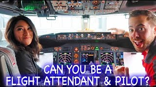 THE LIFE OF A FLIGHT ATTENDANT Ep.23 | I WANT TO BE A PILOT | VLOGMAS DAY 15