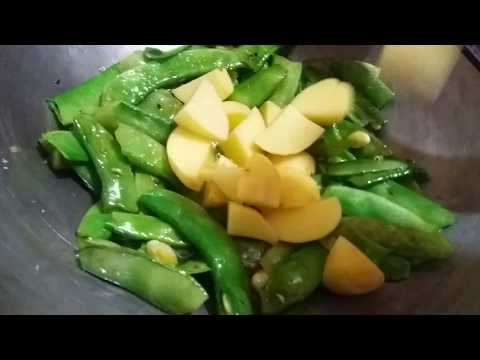 sem aloo ki sabji/ papri ki bhaji/सेम आलू की स्वादिष्ट सब्जी /पापड़ी की सब्जी/