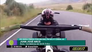 CBA X | Juan José Arco y la 3ra fecha del provincial de Drift Trike | #CBADEPORTIVA