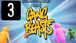 LAUGH TO DEATH!!! Gang Beasts (p.3) | gamezongainz