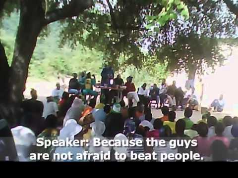 Political Intimidation in Zimbabwe