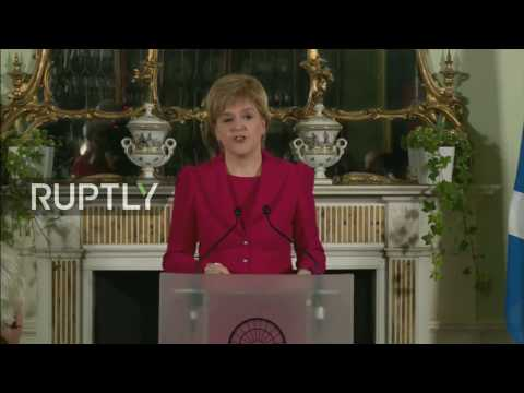 LIVE: Scotland's first minister Nicola Sturgeon to deliver important statement in Edinburgh