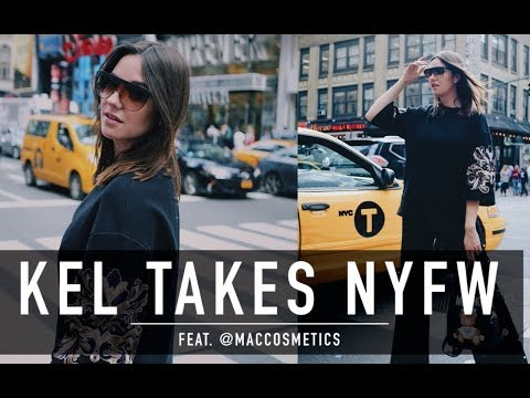 KEL Takes New York Fashion Week SS 18 ft. @maccosmetics