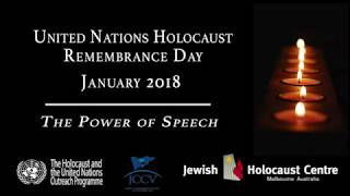 United Nations Holocaust Remembrance Day 2018