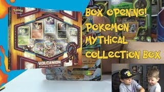 Pokemon Volcanion Mythical Collection Box Opening! Awesome EX Card Pulls