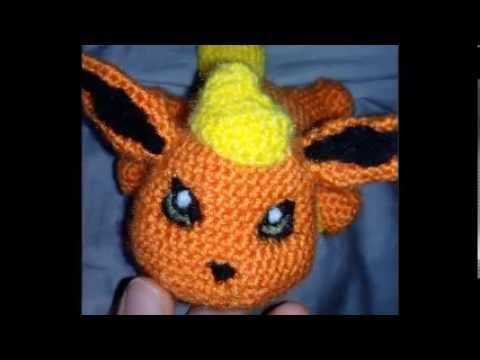 Patrn De Flareon Free Pokemon Pattern Amigurumi Youtube