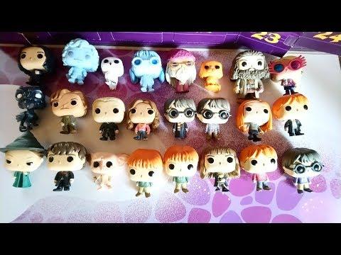 Potter Calendrier Les Harry De L'avent 24 Pop Du Figurines Funko NX0Pn8kwO