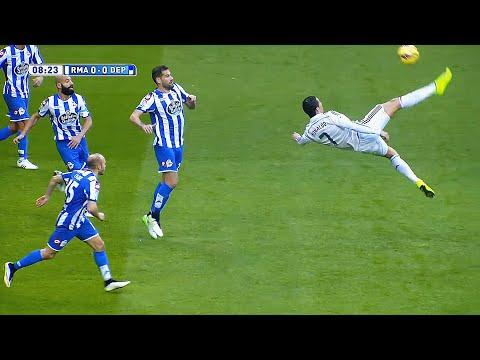 Cristiano Ronaldo ''Impossible is Nothing'' ► Genius Bicycle Kicks thumbnail