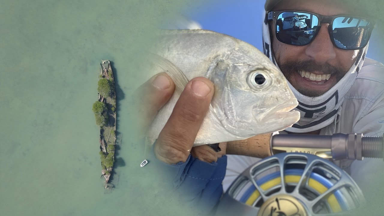 First Fish on a Fly - Townsville Ship Wreck