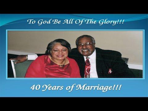 Carolyn and George Wedding Anniversary and Birthday